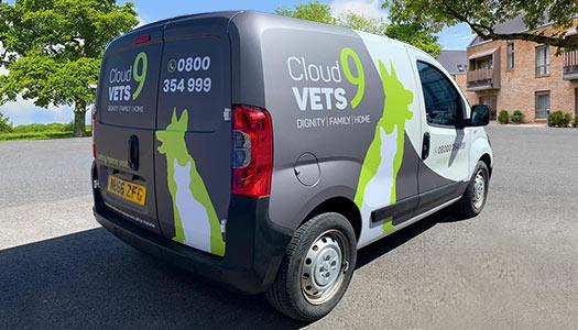 Vehicle Van Wrap Design Uk Skelmersdale 1