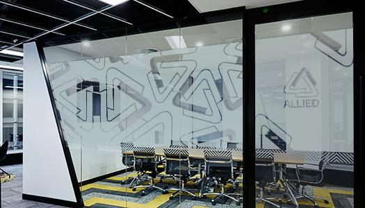 Window Wrap Frosted Office Sign Maker Uk Skelmersdale